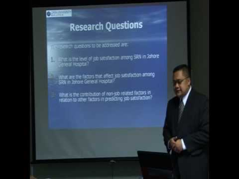 PhD Research Defence (Part 1)