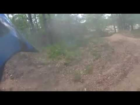 Trail riding in northern Michigan