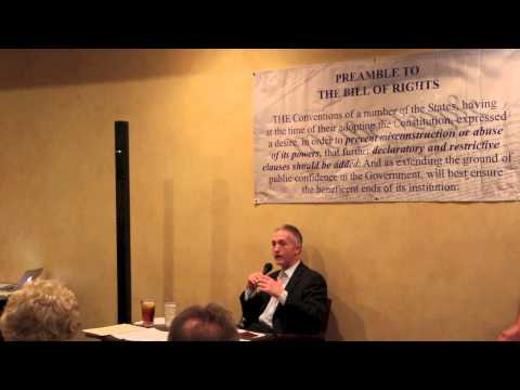 Congressman Trey Gowdy - U.S. Constitution Event (Jan. 29, 2013)