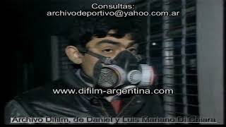 Volcano Eruption in Argentina - 1991 FOOTAGE ARCHIVE