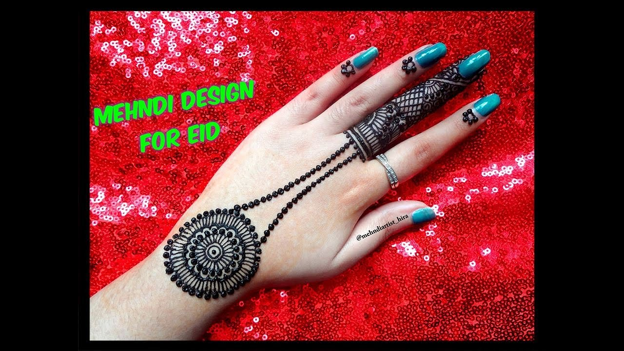 Mehndi design 2017 latest images - Eid Mehndi Design 2017 Jewellery Easy Latest Trendy Henna Mehndi Designs For Hands