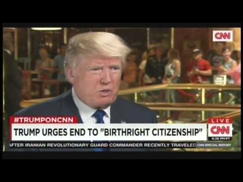 Donald Trump Interview with Chris Cuomo (August 19, 2015)