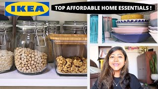 *NEW* BEST IKEA HOME ESSENTIALS UNDER Rs.500 | IKEA INDIA best buys 2020