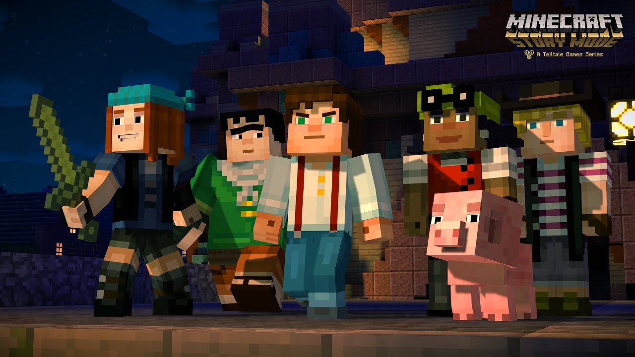 Descarga Minecraft story mode Gratis