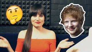 WHAT DOES ED SHEERAN LOOK LIKE? (Describing celebrities)
