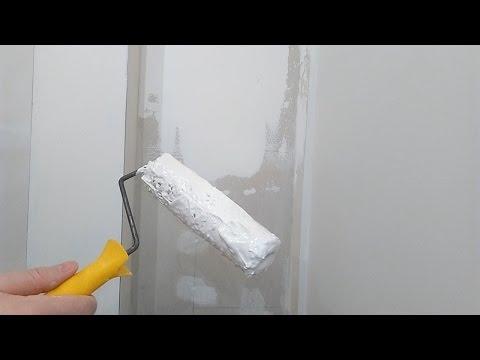 видео: Способы нанесения шпатлёвки на стены