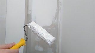 Способы нанесения шпатлёвки на стены