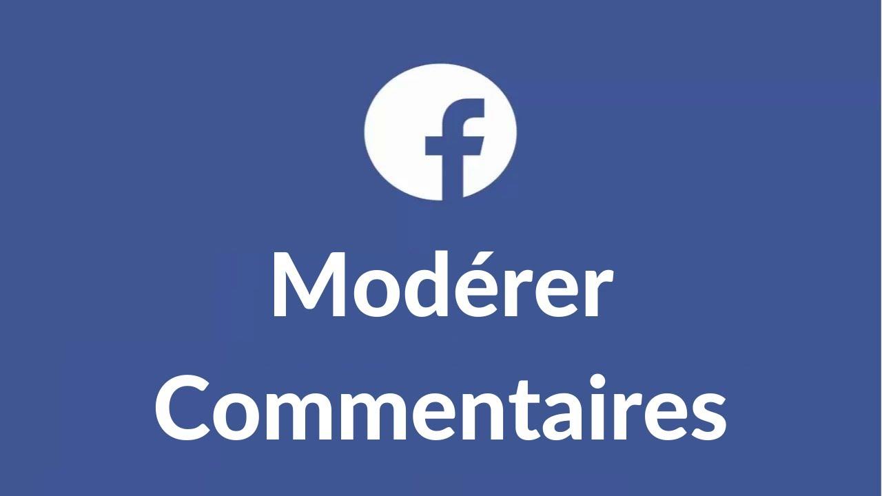 sélectionner pour plus récent thésaurisation comme une denrée rare service durable Comment masquer ou supprimer un commentaire sur une publication de ma Page  Facebook?