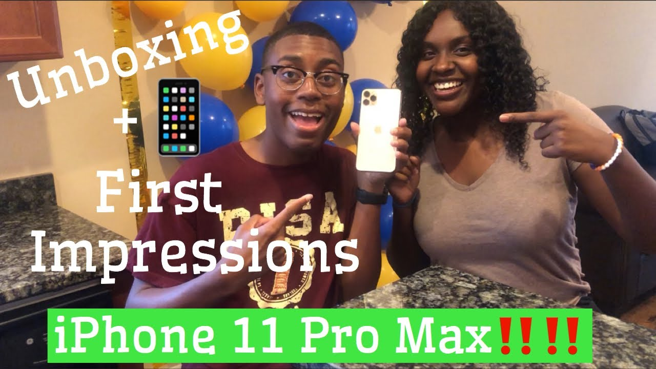 iPhone 11 Pro Max Unboxing + First Impression‼️