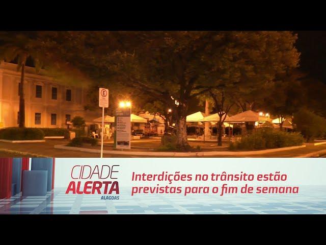 Interdições no trânsito estão previstas para o fim de semana no Jaraguá