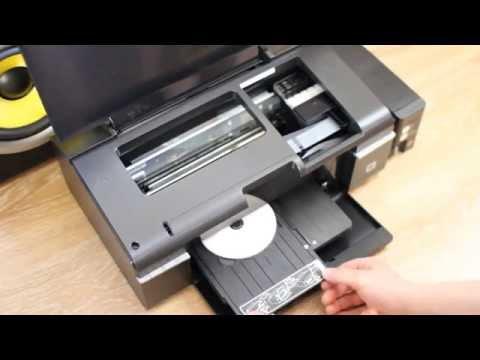 Epson L800 print CD