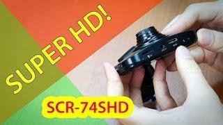 super hd видеорегистратор supra scr 74shd