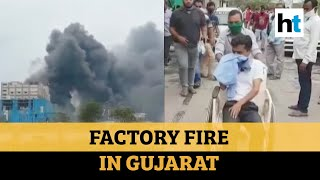 Watch: 5 killed, 40 injured in blast at a chemical factory in Gujarat