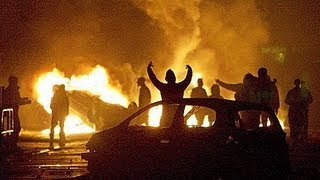 Nuit d'émeutes à Trappes 20/07/13  A VOIR !!!! (7 MINUTES)