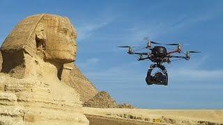 بالفيديو.. مصرى يحصل على براءة اختراع هليكوبتر بدون طيار لكشف المتفجرات