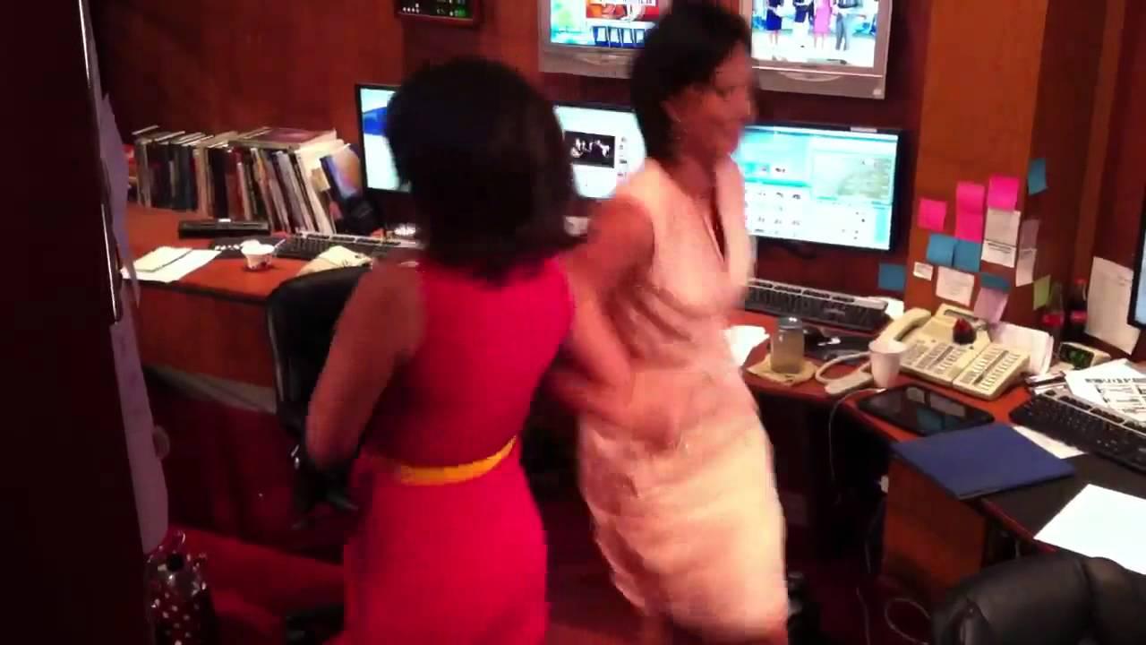 Bree Smith & Sara Dayley honor Polka Day - YouTube
