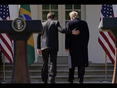 How Trump and Brazil's Bolsonaro align, both personally and politically
