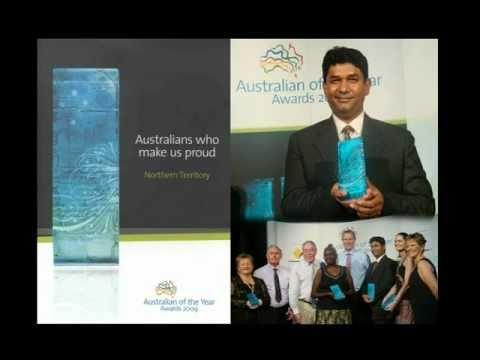 Bangladeshi Australian of the Year (NT Local Hero 2009)