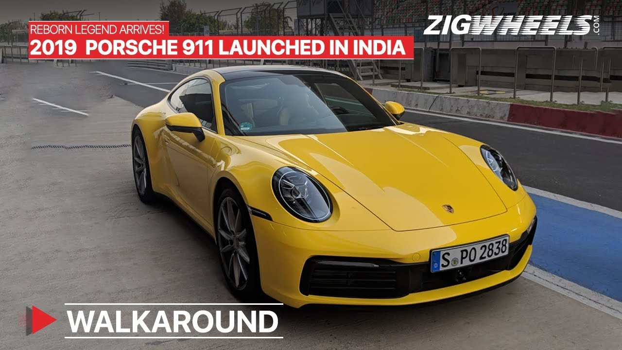 New Gen Porsche 911 Launched In India Prices Start At Rs 1 82 Crore