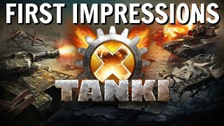 tanki X - First Impressions 2018  Tank Battle Game On Steam