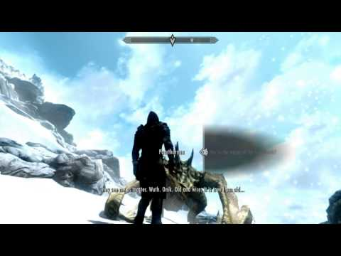 Let play Skyrim part 37 a lot of talking