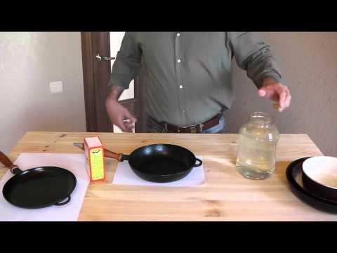 Как мыть чугунную посуду