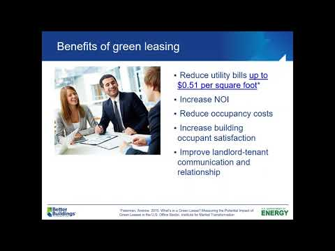 How to Become a Green Lease Leader: The Latest in High Performance Leasing Practice
