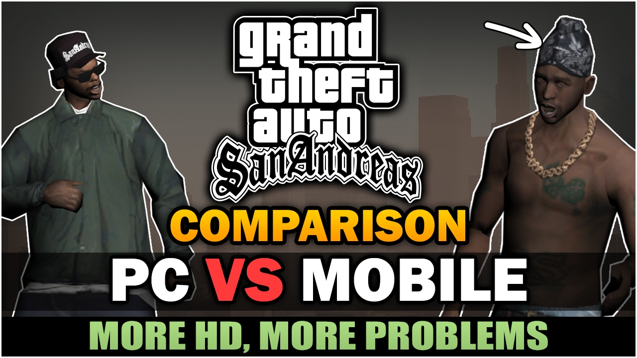 SA] Mobile to PC research project - Other - GTAForums