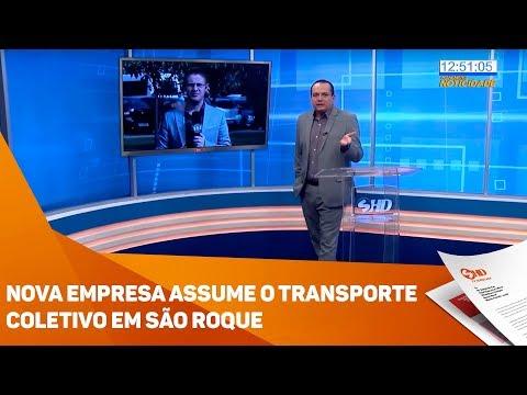 Nova empresa assume o transporte coletivo em São Roque - TV SOROCABA/SBT