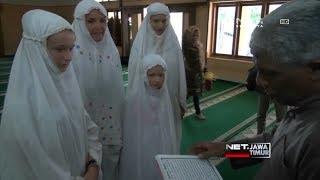 NET. JATIM - BULE BELAJAR ISLAM