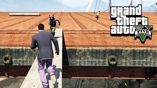 BRIDGE OF DEATH - GTA 5 Gameplay