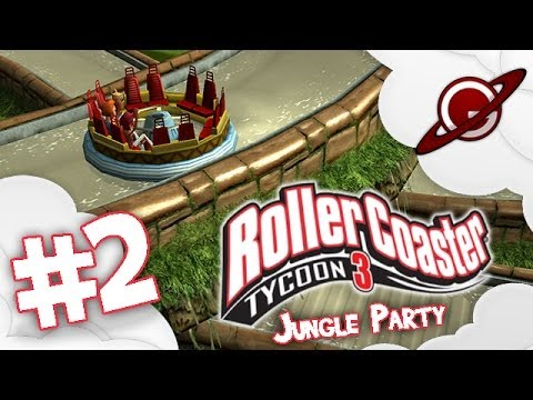 Roller Coaster tycoon 3 | Let's Play #2: Jungle Party [FR]