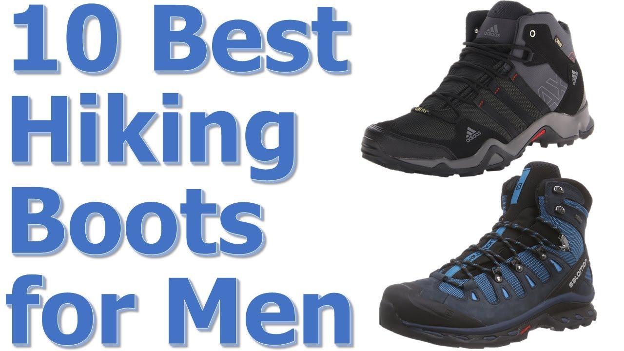 Top 10 Best Hiking Boots For Men Reviews || Best Hiking Boots 2017 ...