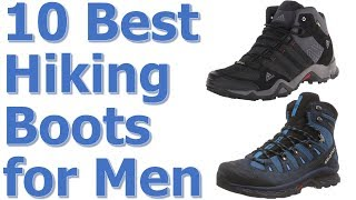 Top 10 Best Hiking Boots For Men Reviews || Best Hiking Boots for Men
