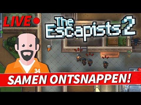 LIVE! - The Escapists 2 - Samen ontsnappen!