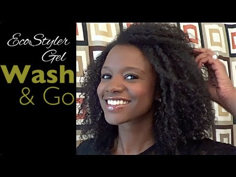 hair styles using eco styler gel my summer time wash n go using eco styler gel nik 9510