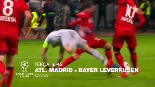 Atl. de Madrid x Bayer Leverkusen na Champions League é na ESPN Brasil!