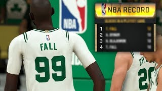 NBA 2K20 Tacko Fall My Career - Multiple NBA Records Set in this Game!