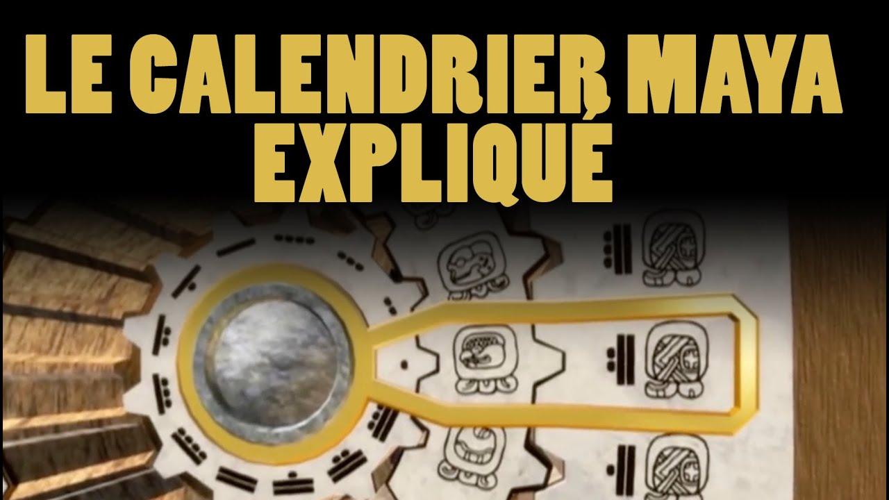 Calendrier Maya Dessin.Le Calendrier Maya Explique