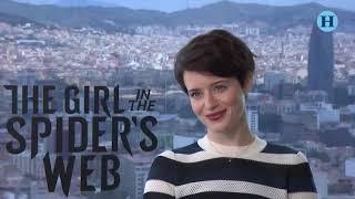 La chica en la telaraña entrevista con Claire Foy