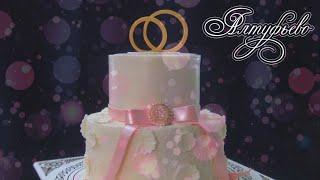 """Шикарный свадебный торт от """"Алтуфьево"""""""