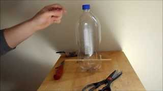 Making A Bird Feeder Using A Soda Bottle
