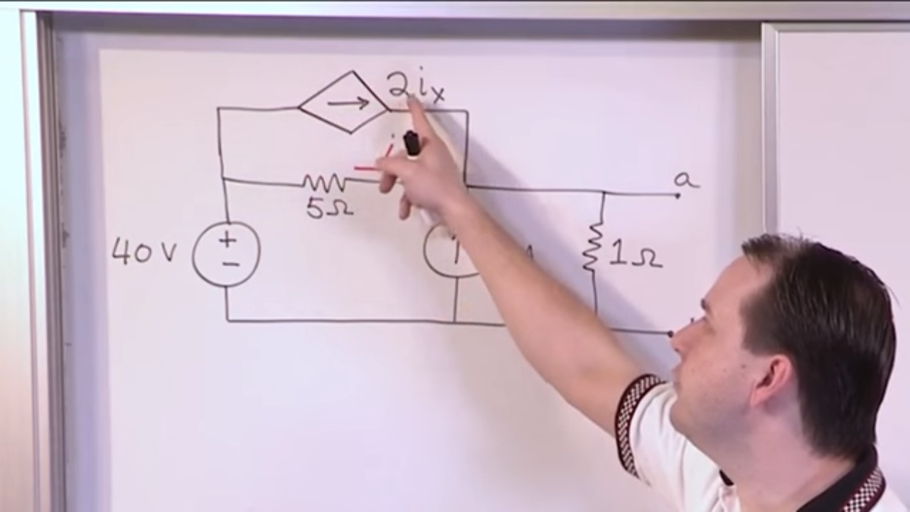 Lesson 9 Thevenin Equivalent With Dependent Sources Part 1 Hint Consider The Thvenin Circuit Engineering Circuits