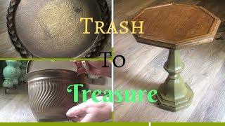 Farmhouse Trash to Treasure items!