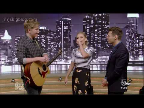 Caleb Lee Hutchinson Sings 'Johnny Cash Heart' on Live with Kelly and Ryan