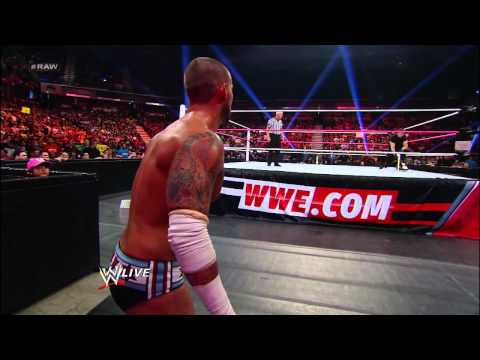 Mr. McMahon vs. CM Punk: Raw, Oct. 8, 2012