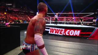 Mr. McMahon vs. CM Punk: Raw, Oct. 8, 2012