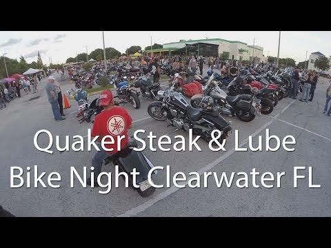 Quaker Steak And Lube Bike Night Clearwater FL