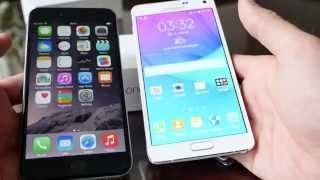 Apple iPhone 6 Plus vs. Samsung Galaxy Note 4 Comparison [4K HD]
