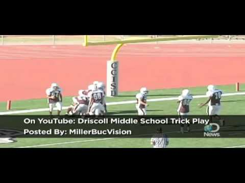 Driscoll Middle School Trick Play Explained